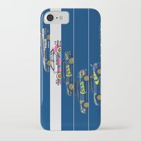 subaru iPhone & iPod Cases featuring Colin McRae, The Subaru Years by Ricardo Santos