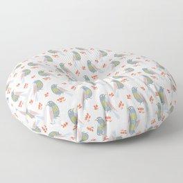 Observing Birdie Floor Pillow