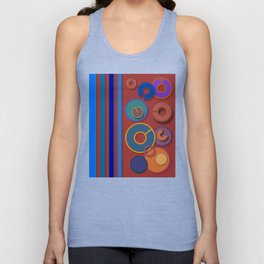 Abstract #54 Unisex Tank Top