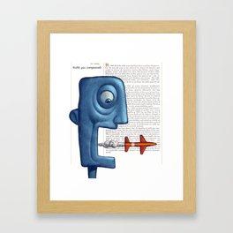After Words Framed Art Print