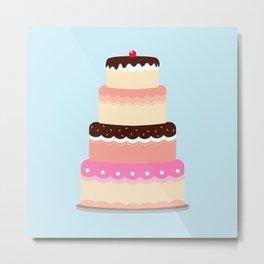 Cake Metal Print