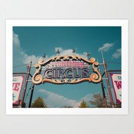 Storybook Circus Art Print