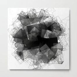 Crystal Shades Metal Print