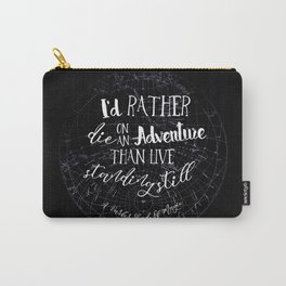 Lila Bard - Die On An Adventure Carry-All Pouch