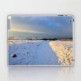 Lancashire Snow Scene Laptop & iPad Skin