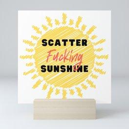 Scatter Sunshine Mini Art Print