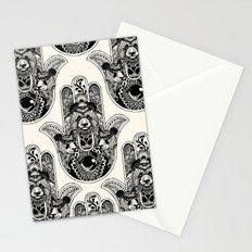 Hamsa Hand Panda Stationery Cards