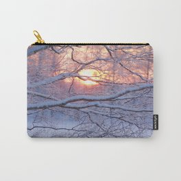 Winter Sunset #decor #society6 Carry-All Pouch