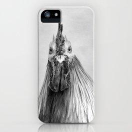 Gulp! In Mono iPhone Case
