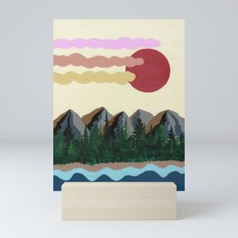 River Ran Through Mini Art Print