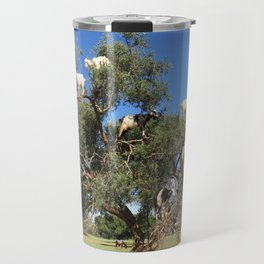 Goats in a tree Travel Mug