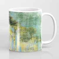 palms Mugs featuring Palms by Alan Dubrovo