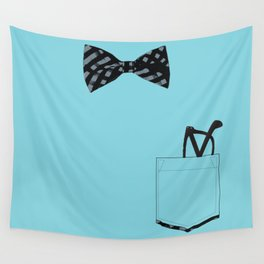 Bow tie and pocket Wall Tapestry