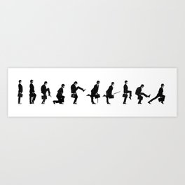 Monty Python | Ministry of Silly Walks Art Print