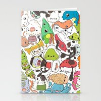nori Stationery Cards featuring Sushi Bar: Point of Nori-turn by ieIndigoEast