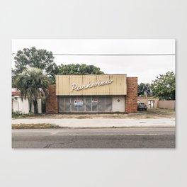 Abandoned Parkview Building Canvas Print
