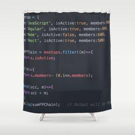 Java script Shower Curtain