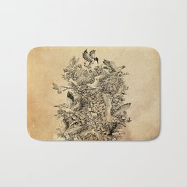 Blooming Flight Bath Mat