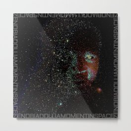 a moment in space Metal Print