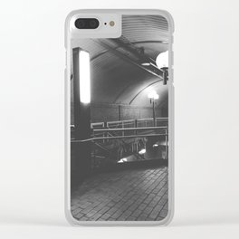 Montreal Subway | Métro de Montréal | Snowdon Clear iPhone Case