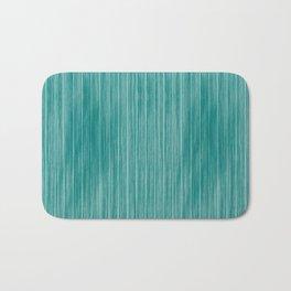 Tiffany Aqua Weathered Whitewash Wooden Beach House Bath Mat