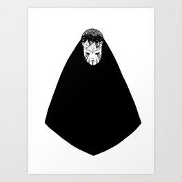 La Reine de la Nuit Art Print