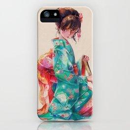 Maiko iPhone Case