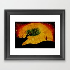 MOONSCAPE - 238 Framed Art Print