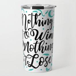 u2's with or withoutyou Travel Mug