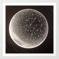 constellation Art Prints featuring Constellation by Shelbie Sanderson