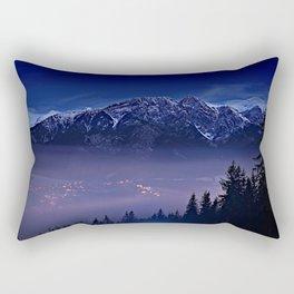 The Mountain's Dream Rectangular Pillow