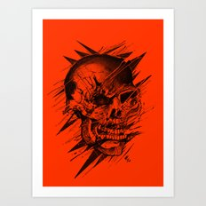 Skull's Not Dead Art Print