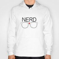 nerd Hoodies featuring Nerd by UMe Images