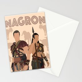 Nagron Goat Farm (Spartacus) Stationery Cards