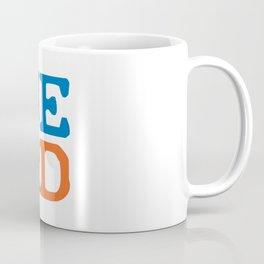 Color Block Coffee Mug