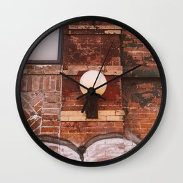 East Village Streets IV Wall Clock