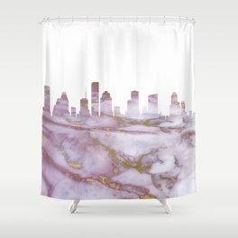 Houston Skyline Texas Shower Curtain