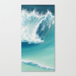 Musical Thunder Canvas Print