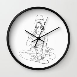 Chai Wall Clock