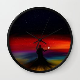 Void King Wall Clock