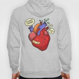 Heart thump-thump Hoody