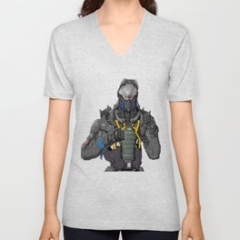 Fighter_Insector Unisex V-Neck