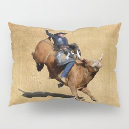 Bull Dust! - Rodeo Bull Riding Cowboy Pillow Sham