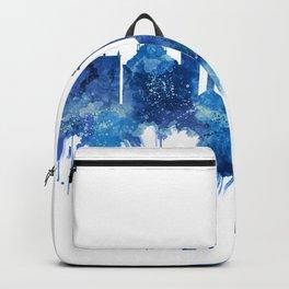 Venice Italy Skyline Blue Backpack