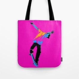 """Flipping the Deck"" Skateboarding Stunt Tote Bag"