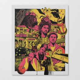 Cole World - The Story Canvas Print
