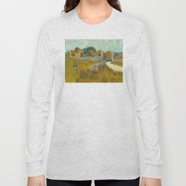 Vincent van Gogh - Farmhouse in Provence Long Sleeve T-shirt