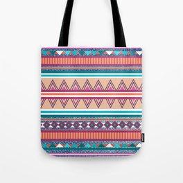Southwestern denim pattern Tote Bag