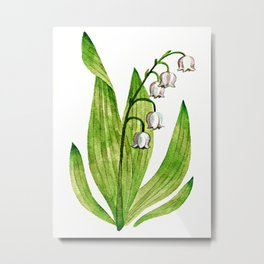 Lily of My Heart Metal Print