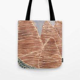 tall mountain Tote Bag